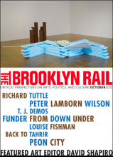 Brooklyn Rail Cover