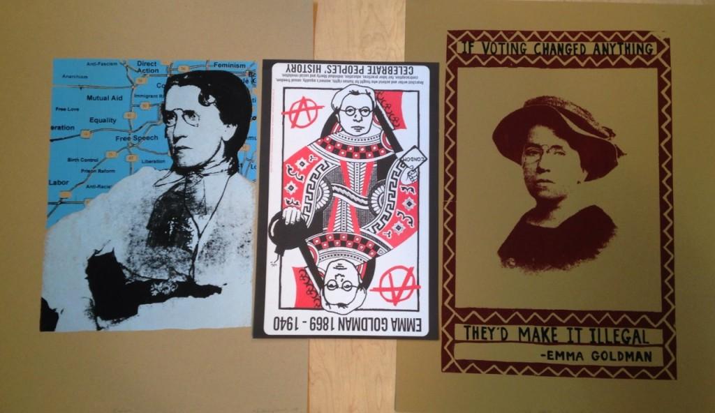 Posters by Nicolas Lampert & Ben Rubin