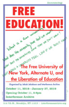 interference archive free education the free university of new