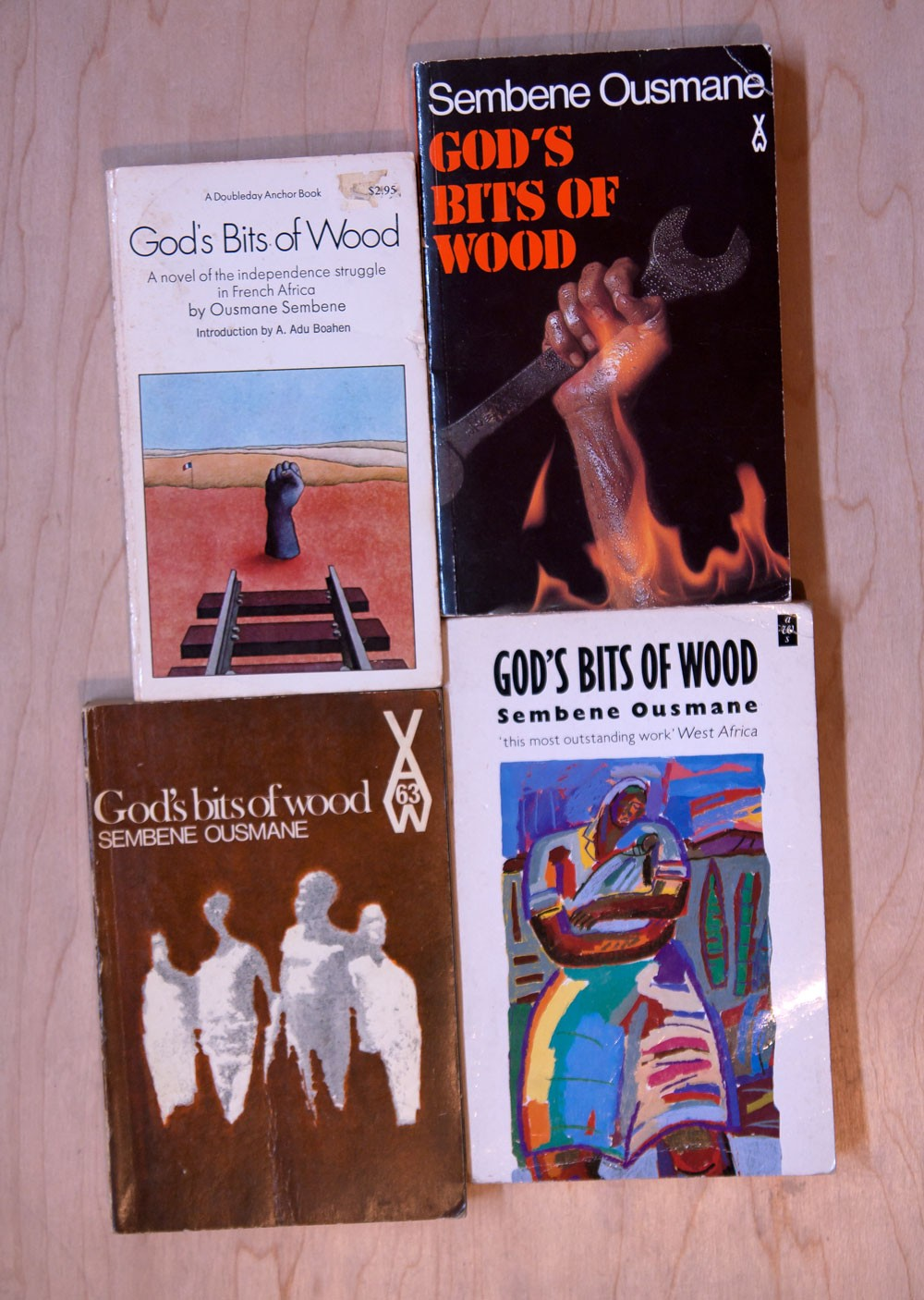 a comparison of gods bits of wood by sembene ousmane and our strike by frederick cooper 13 'revolution' was the word used by a strike veteran adoulaye souleye sarr, interview, thiès, 22 july 1990, by mor sene, babacar fall and frederick cooper he pointed to the milieu of thiès as the incubus of the revolution.