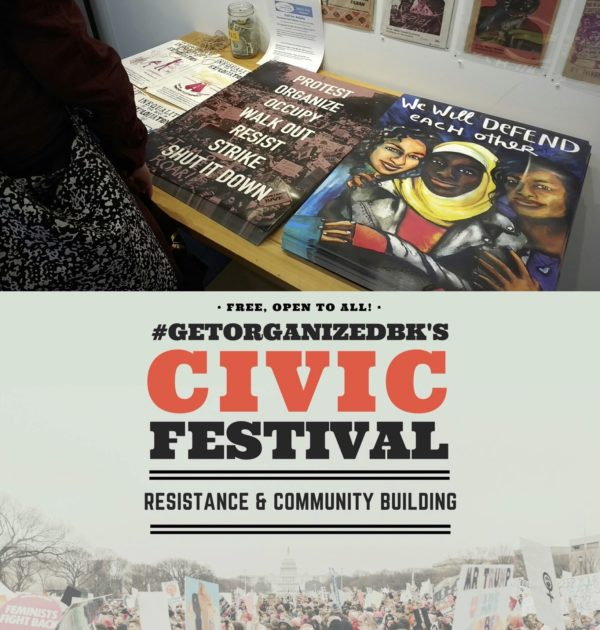 Interference Archive at GetOrganizedBK's Civic Festival