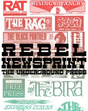 Rebel Newsprint: The Underground Press