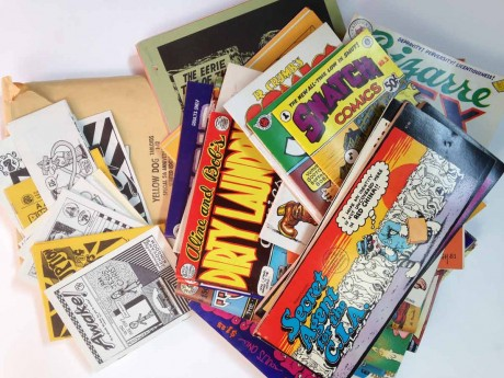 Comic books from the 60's-80's