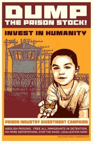 dump prison stock, invest in humanity