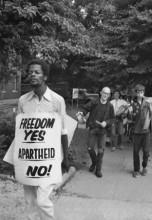 Freedom Yes, Apartheid No