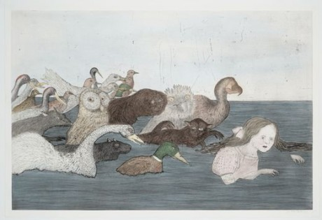 kiki smith After Lewis Carroll