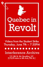 Quebec in Revolt